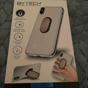 New Bytech Rose Gold Slim Grip & Stand